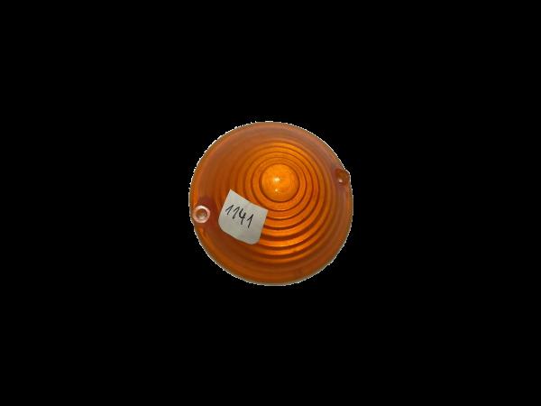 Lente faro antiguo ambar 1141_2