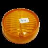 Lente faro antiguo redondo ambar