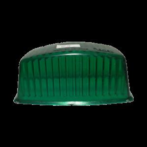 Lente Faro antiguo tipo universal verde