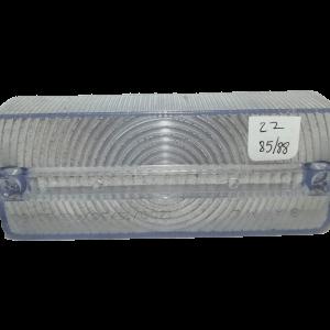 Lente cristal rectangular 2286