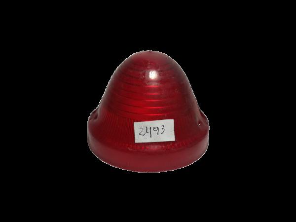 lente conico rojo 2493