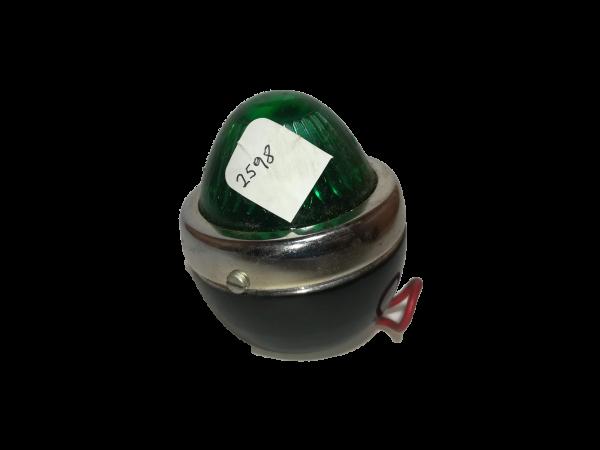 Faro metal verde 2598