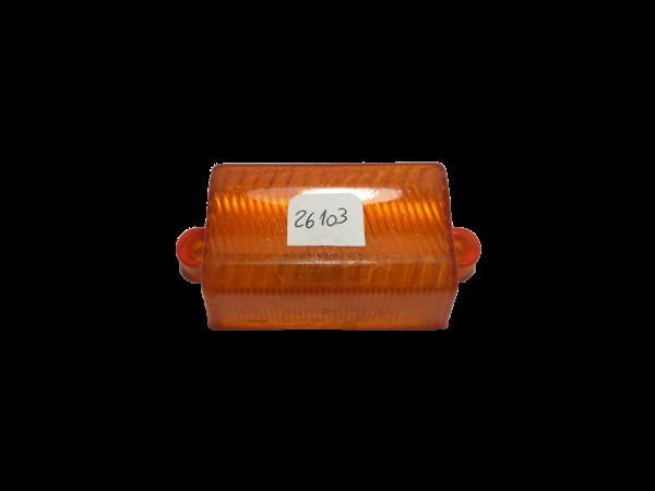 Lente ambar rectangular 26102