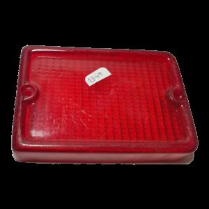 Lente rectangular faro antiguo rojo 1349_1