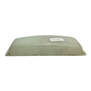 Lente rectangular blanco 30117